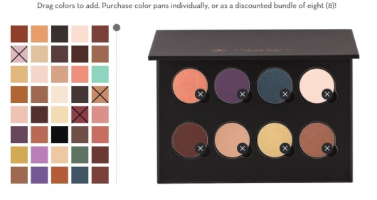 Screenshot from: http://anastasiabeverlyhills.com/